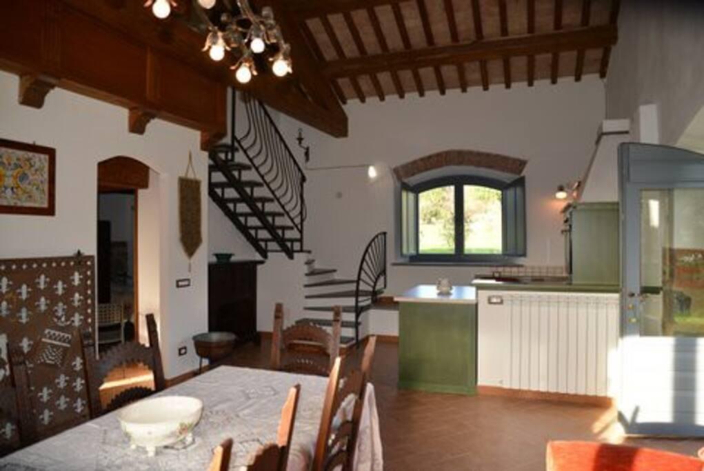 Borgo Podernovo - Living room