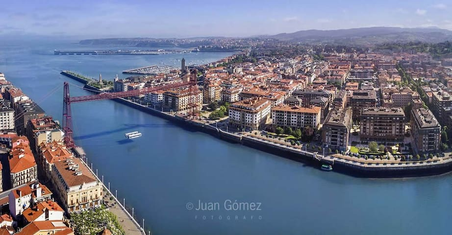 New Bright Apartment Center of Getxo
