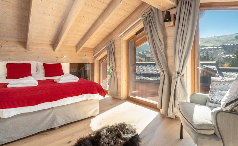 Luxury Loft for an Alpine summer