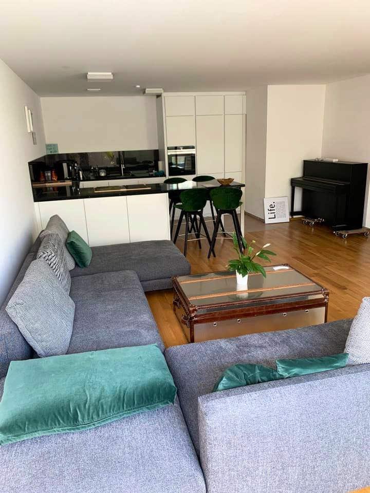Ruhige gelegene 100m2 Wohnung in Ulm-5 min vom HBF
