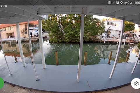 Waterfront Ocean Side House with Dock & Boat Ramp