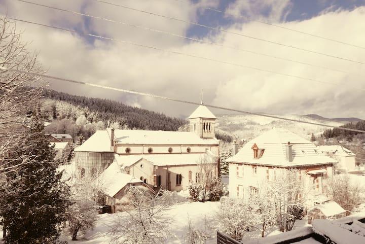 La cocotte de pin 1er étage, ♥ des Hautes Vosges