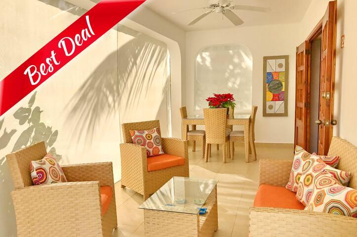 Beach Villa Mariposa 2bdr + WiFi - Punta Cana - Villa