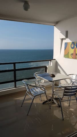 Room in a sea view apartment - Cartagena