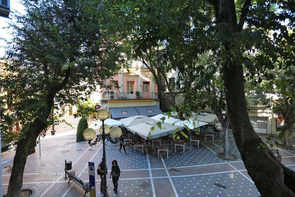 Vistas a la Plaza Plateros
