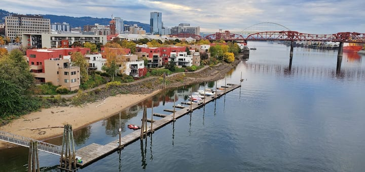 Portland Pearl, City Living & On Willamette River