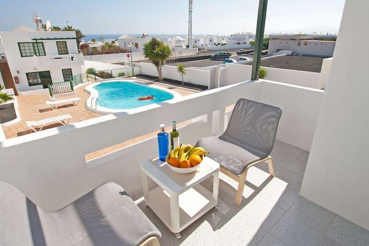 Casa Milagro - Pool and Ocean View - Tías - Apartment