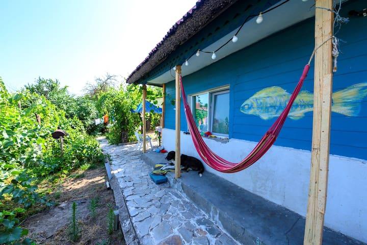 Camping in Sulina, Danube delta