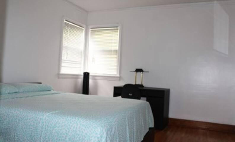 BEDROOM #1 VIEW FROM THE DOOR