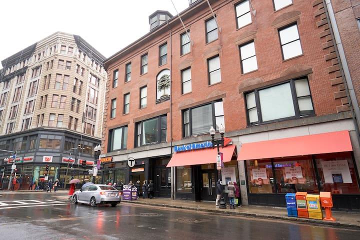 Sonder | Boston Common | Elegant 1BR + Laundry
