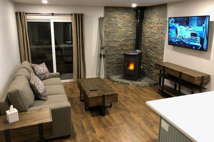Cozy Modern Condo in the Center of Town