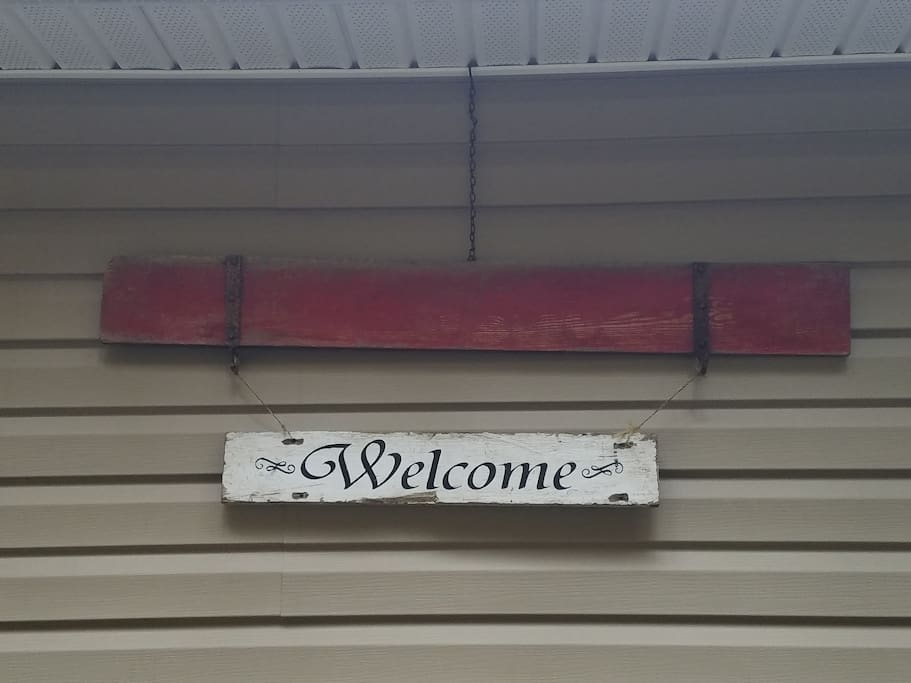 Always feel welcome at our home