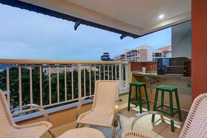 Apartamento próximo ao Beach Park em Porto das Dunas por Carpediem