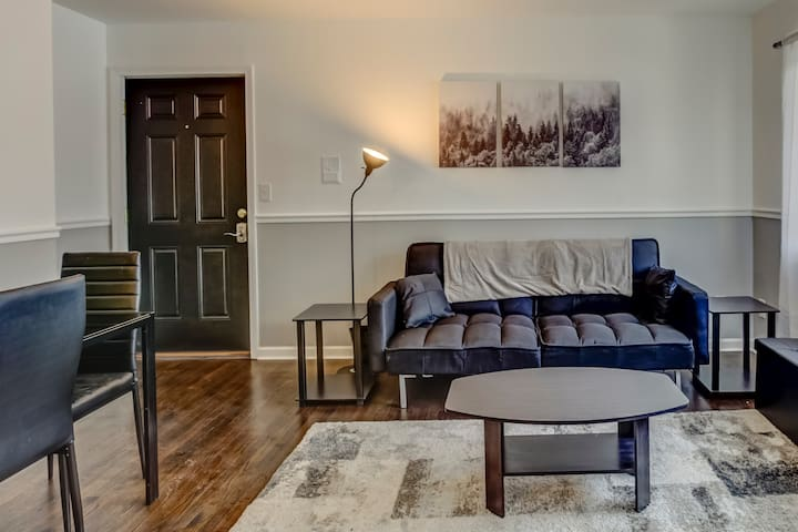 Downtown Royal Oak 1Br Updated Apartment