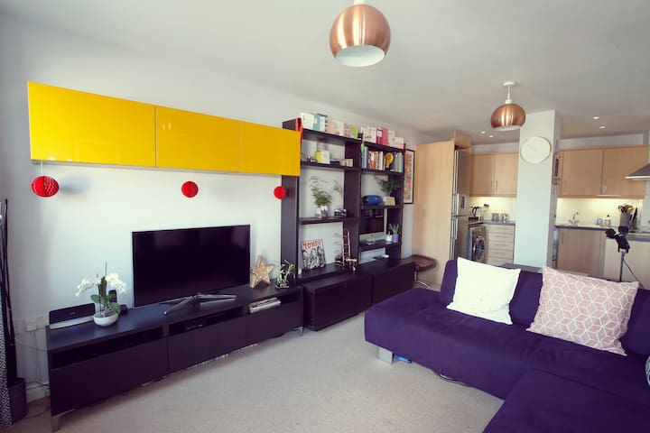 Clean, Quirky and Modern Apartment. - Walton-on-Thames - Apartamento