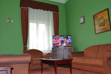 Tágas lakás Szombathely centrumban - Szombathely - Apartamento