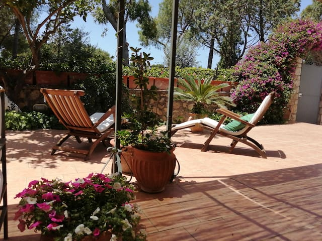 Apartment with great terrace near the Blue Grotto