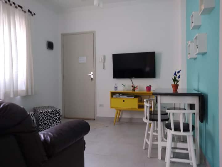 Lindo apartamento, 200m da praia, no Boqueirão