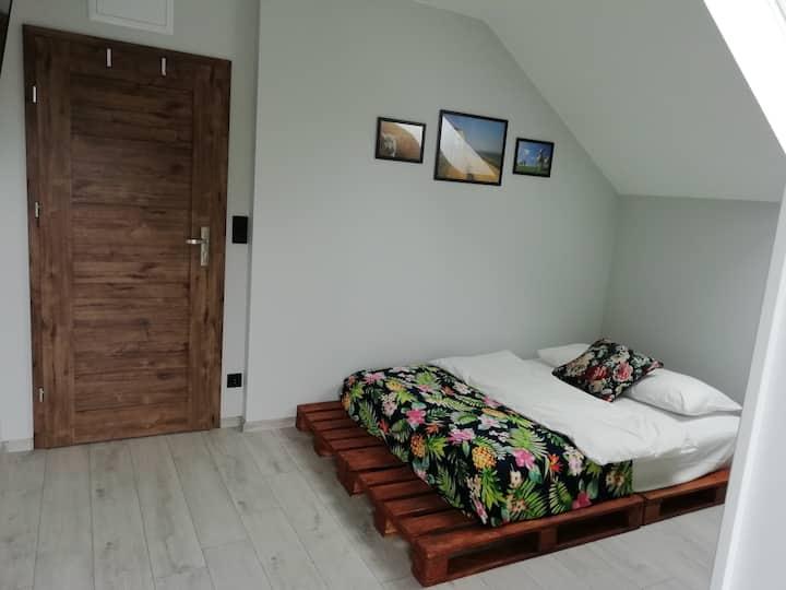 Pokoje pod Baranami pokój 2 osobowy z łazienką