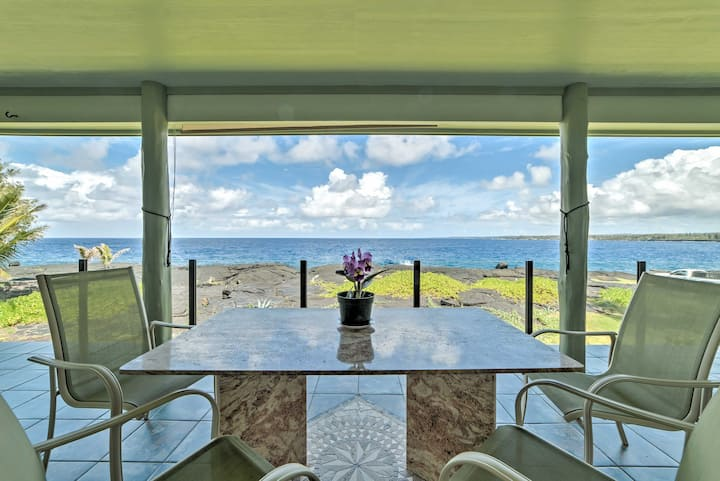 Big Island Oceanfront Home - Great Whale Watching!