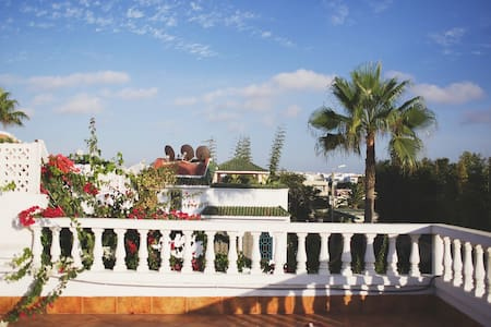 Villa Nabil bord de mer - Témara - Huis
