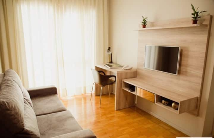 Fully equipped apartment in Porto Alegre