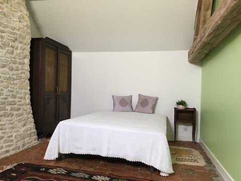 Chambre privée au grand calme