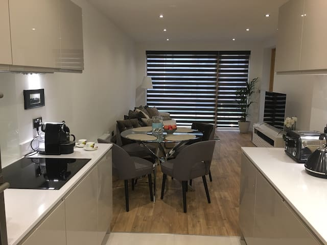 Lovely New Large Apartment-30 min Central London