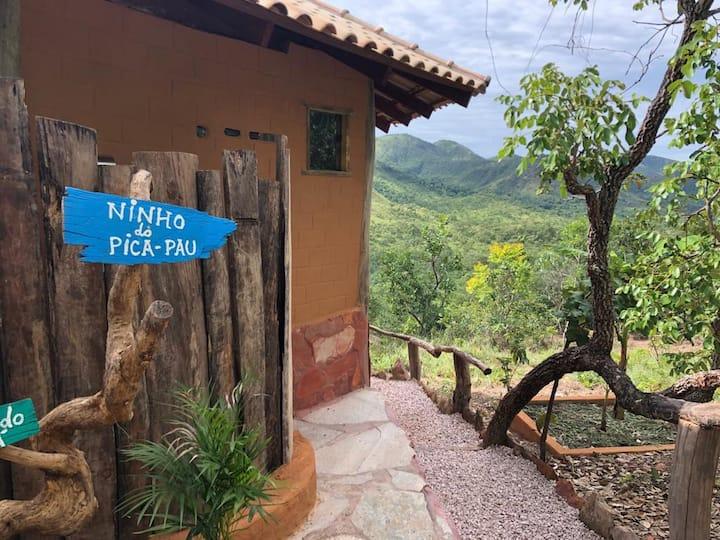 Chapada dos Veadeiros - Chalé Ninho do Pica-pau