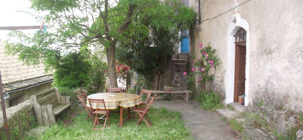 Maison Cévenole dans village 12è - Saint-André-de-Majencoules - Casa
