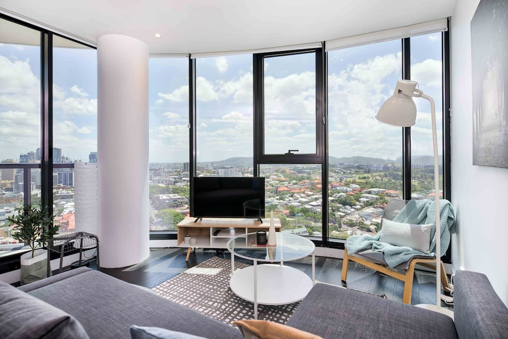 Flattering Pad With Lovely Views Pool Fortitude Valley