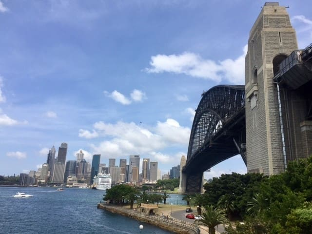 Vivid - Views from lounge 2 H'brg Opera Single bd - Kirribilli - Appartamento
