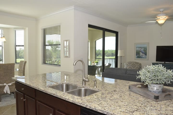 New construction 2 bedroom condo with Golf access.