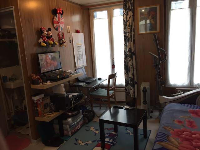 Studio de 18 m2 à proximité des Grands Boulevards