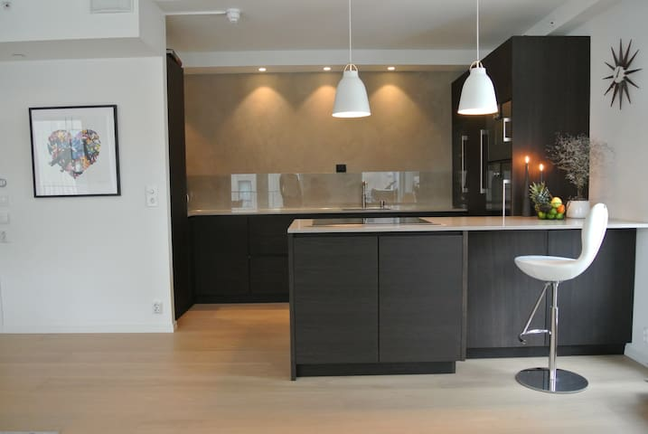 Stylish modern apartment 10minutes drive from Oslo - Bærum - Appartement