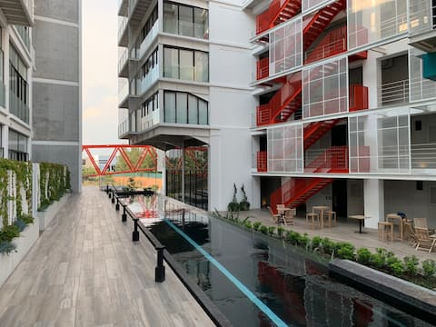 Cayalá -Modern and stylish apartment with pool/gym