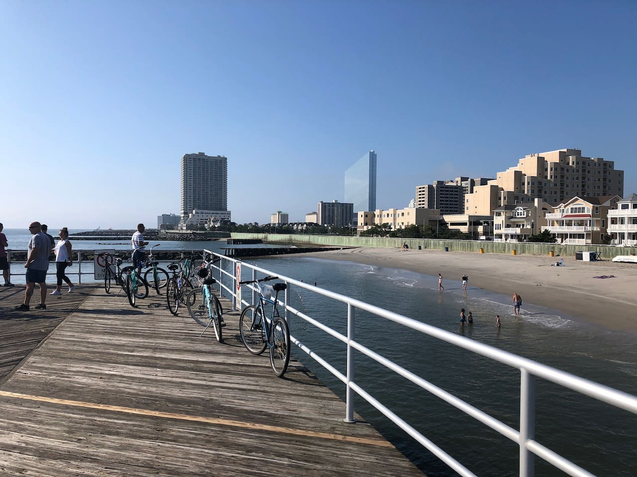 View at end of AC Boardwalk