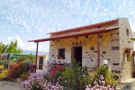 Villa Chloé. Stone house with large garden