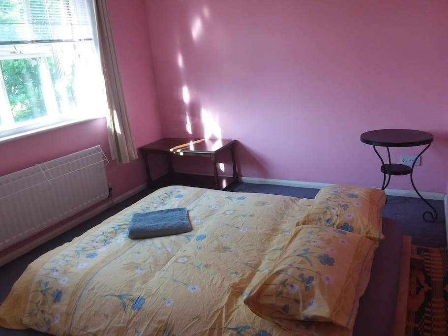 Bedroom - Futon Sofa down