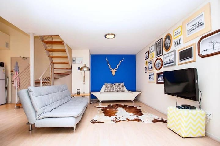 Sexy loft in the heart of the city