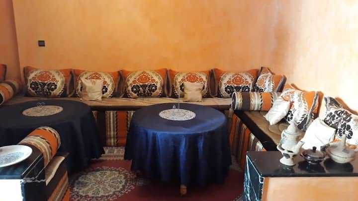 Moroccan homestay with free transport arrangements