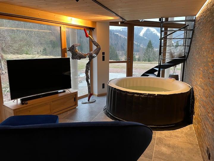 Loft haut de gamme avec jacuzzi intérieur