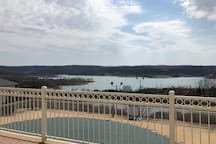 Incredible view from the Emerald Pointe Club House