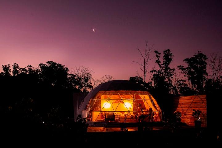 Amarone Glampers Dome - a romantic vineyard escape