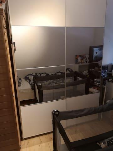 Soveværelse inkl sauna