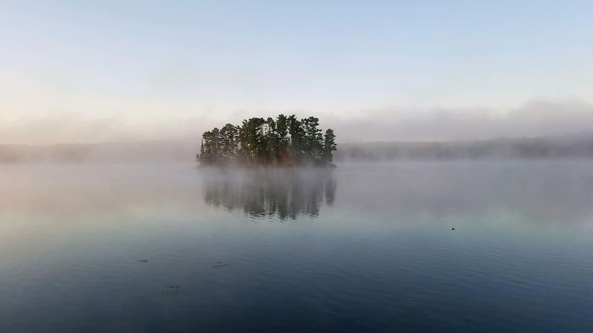 Island View Lodge on Kego Lake in Minnesota.
