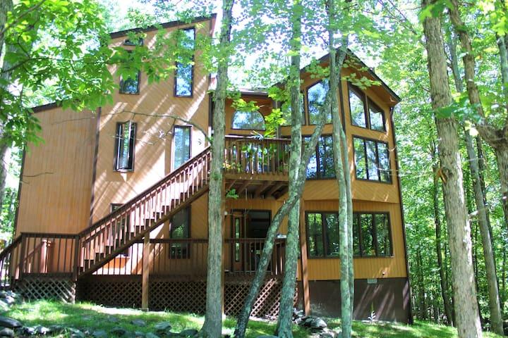 Big House On The Hill - Hot Tub, Sauna, Fireplace!
