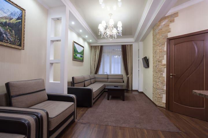 Апартаменты 2-х комнатные - Dombay - Appartement