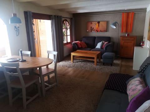 Charmante Wohnung in Villars