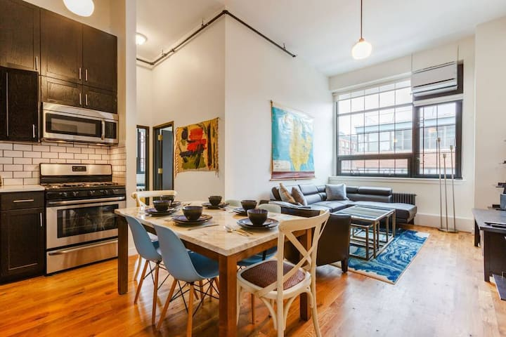 Magnificent Industrial Chic 3 Bedroom Loft